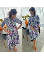 LL-21427-3037 LL74 Olivia Dress Flower Print