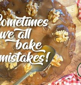 """Wenskaart """"Sometimes, we all bake mistakes"""""""