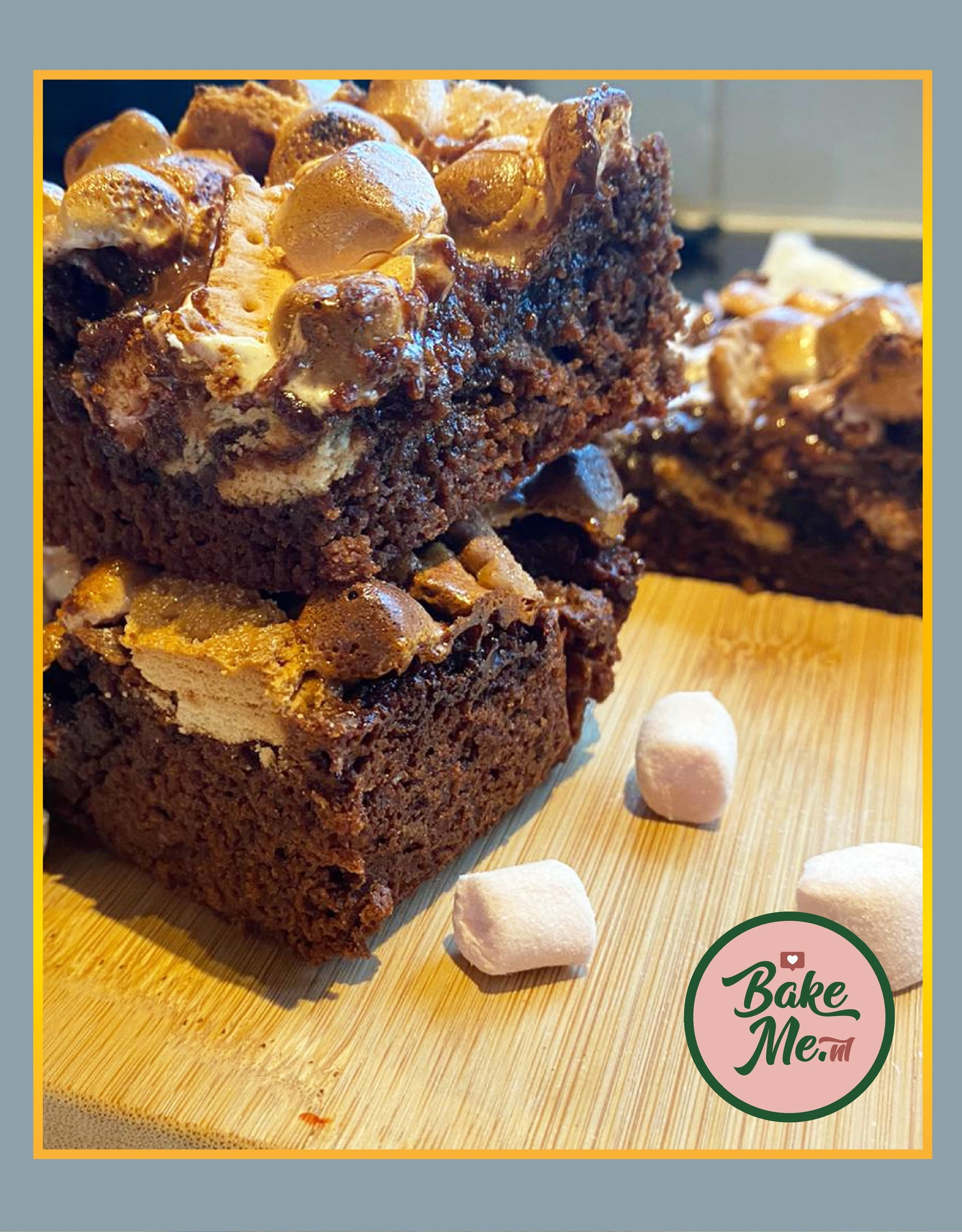 Brownie S'mores bakmix