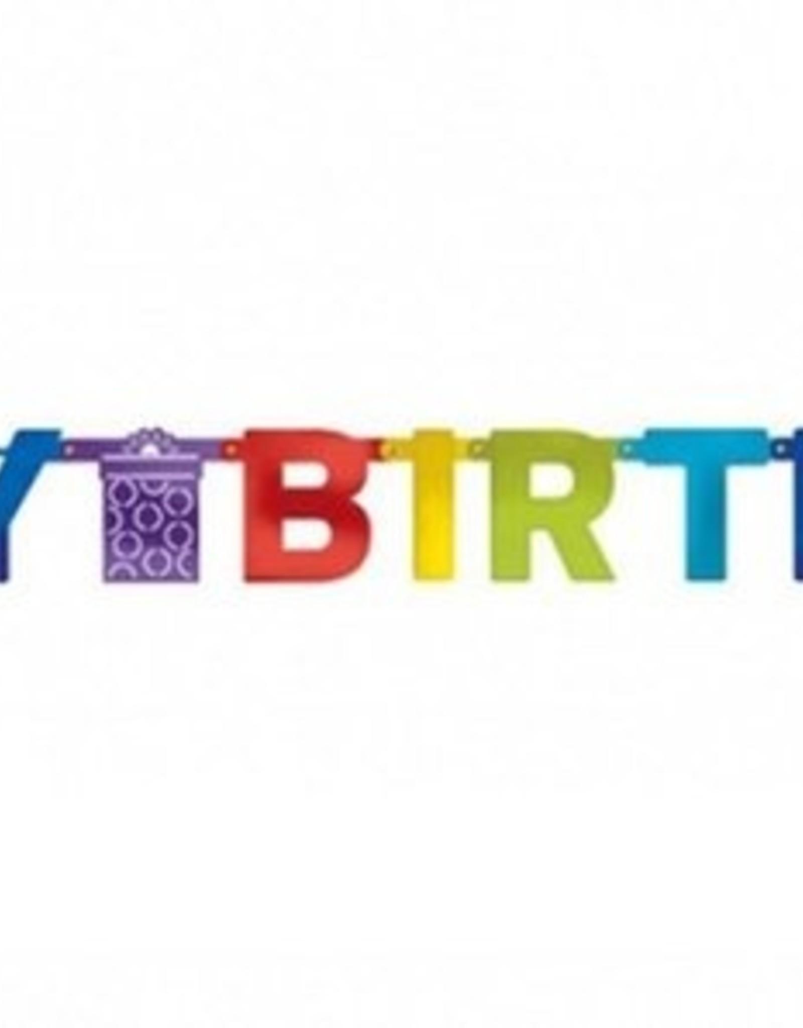 """Letterslinger """"Happy Birthday"""" 1.5m/karton"""