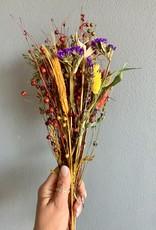Extra feestelijk inpakken met droogbloemen
