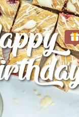 """Happy Birthday"" cadeaupakket"