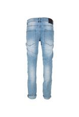 Indian Blue Jeans Broek Blue Max slim fit Light Denim
