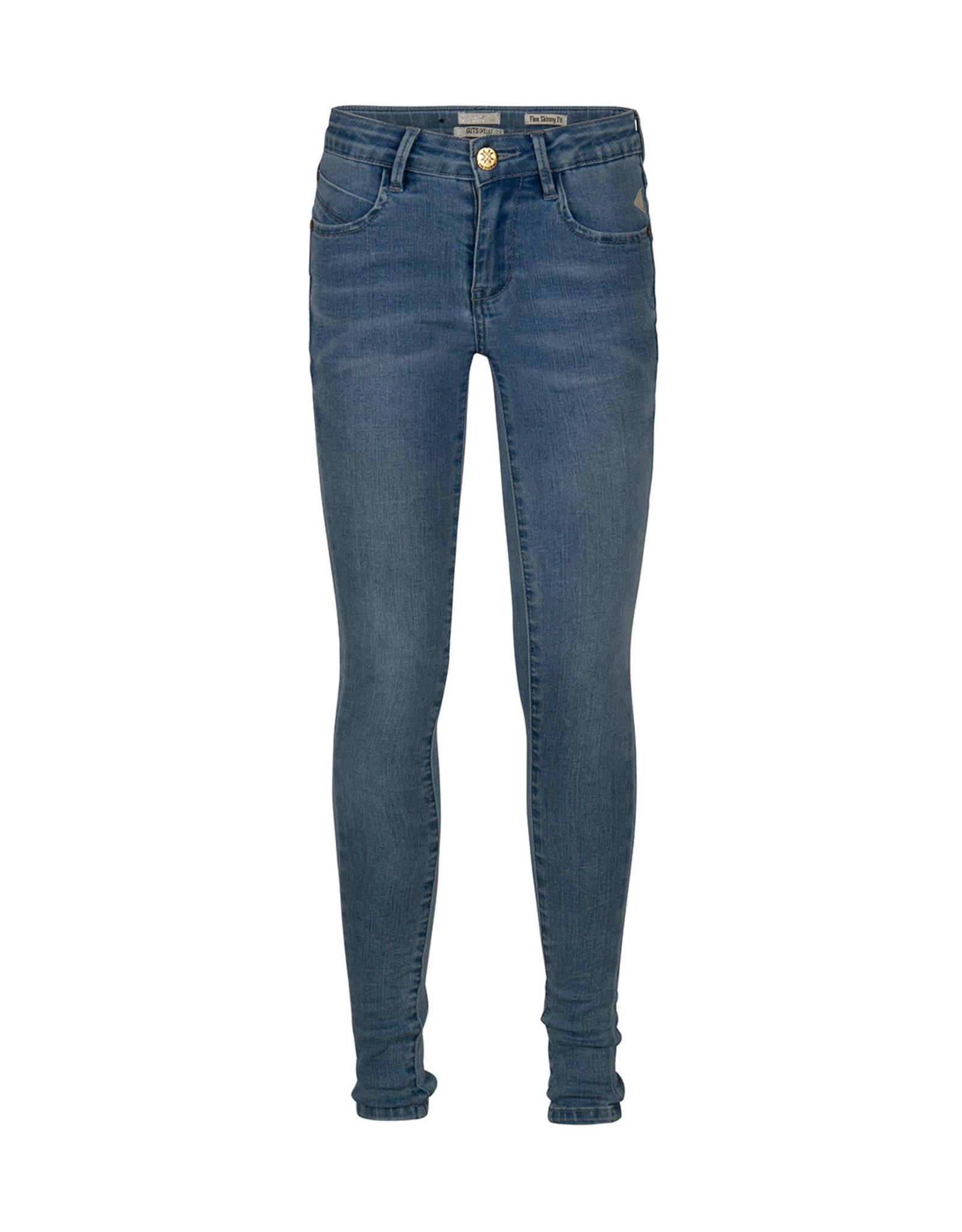 Indian Blue Jeans Broek Blue Jill Flex skinny Medium Denim