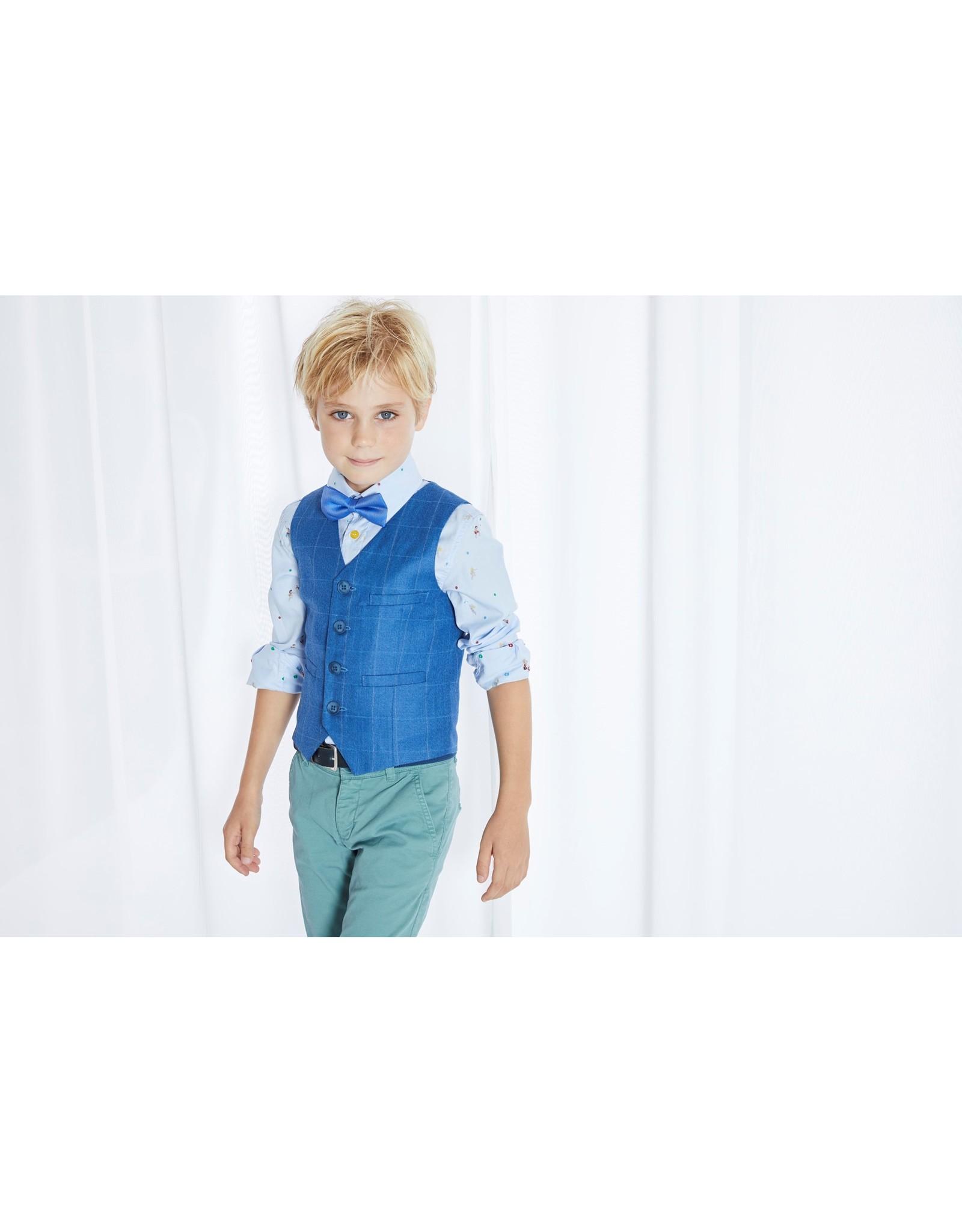 Blue Bay Hemd Clement blauw