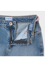 Mayoral Mayoral jeansrok met riem
