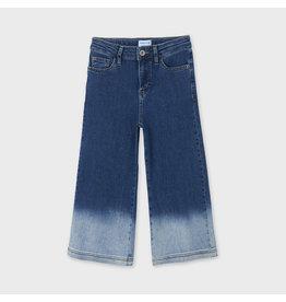 Mayoral Mayoral jeans tie die culotte
