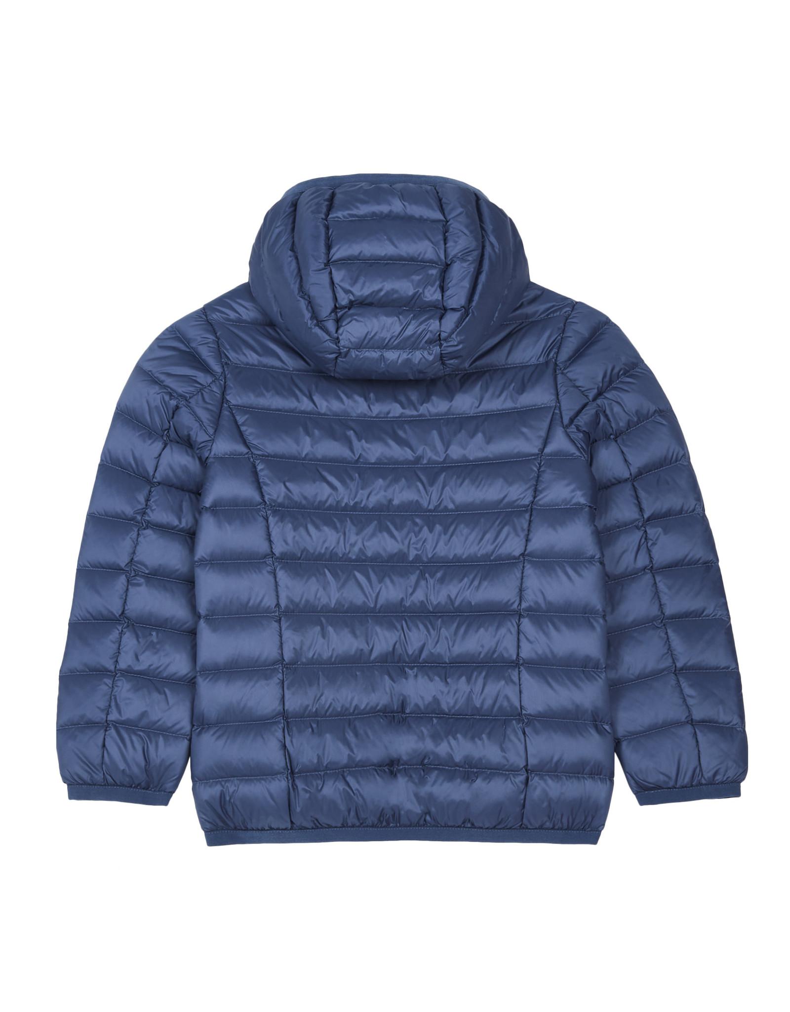 Jott Jott jas met kap Hugo jeans blauw