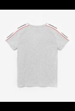 Le temps des cérises ltdc T-shirt Dambo grijs streep schouders