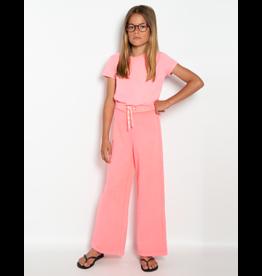 A076 AO76 sweatpants fluo roze