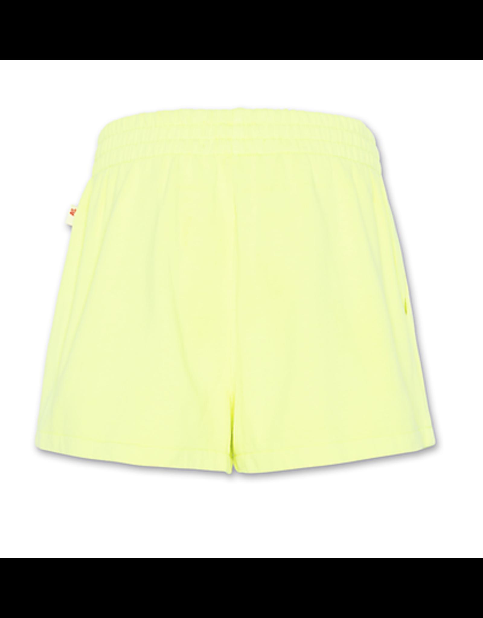 A076 AO76 sweatshirt fluo geel