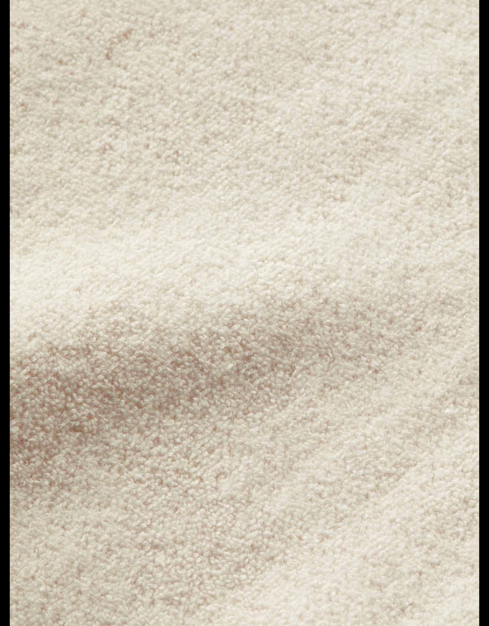 Scotch & Soda S&S Hoodie organic cotton ecru