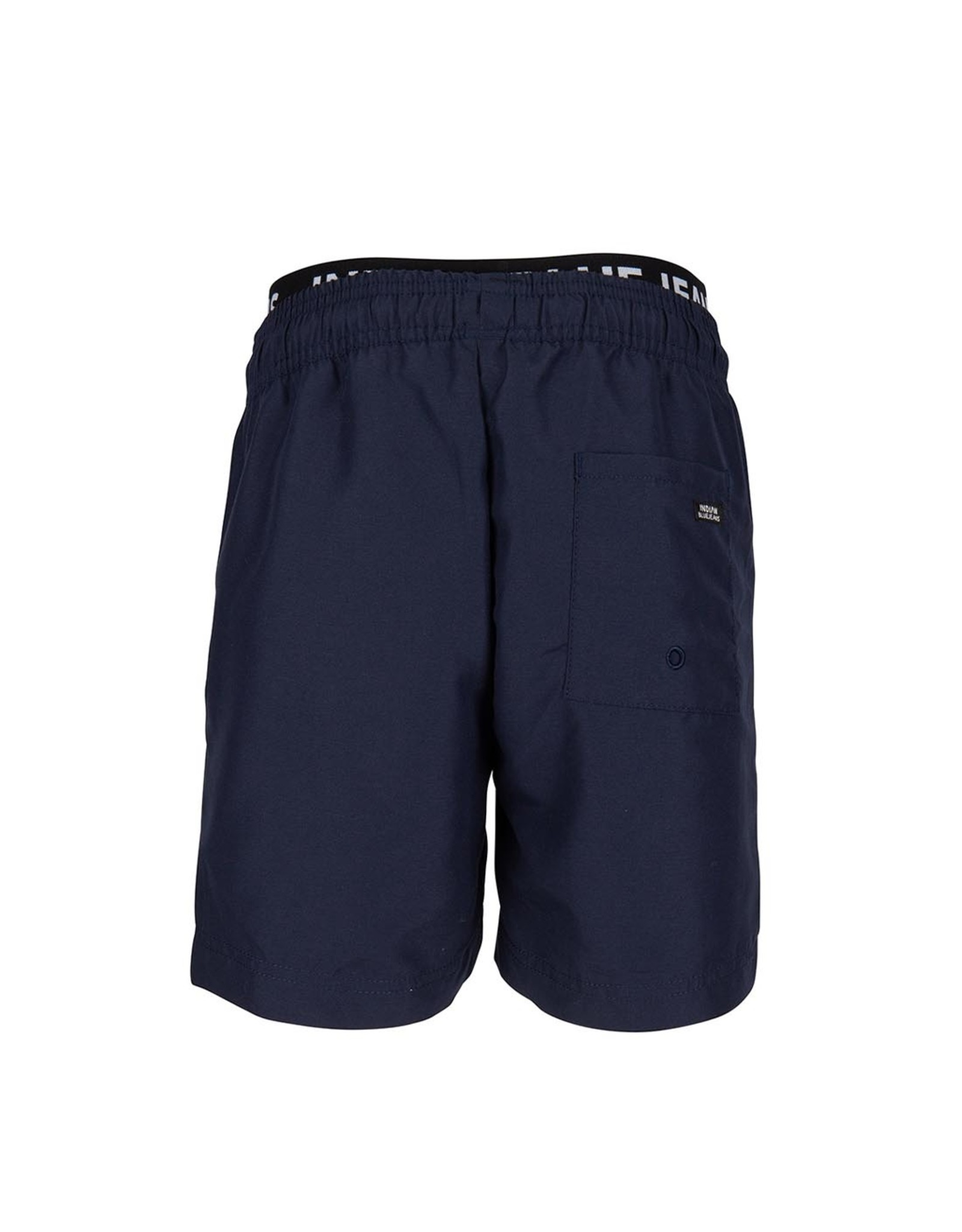 Indian Blue Jeans IBJ zwemshort navy fluo oranje
