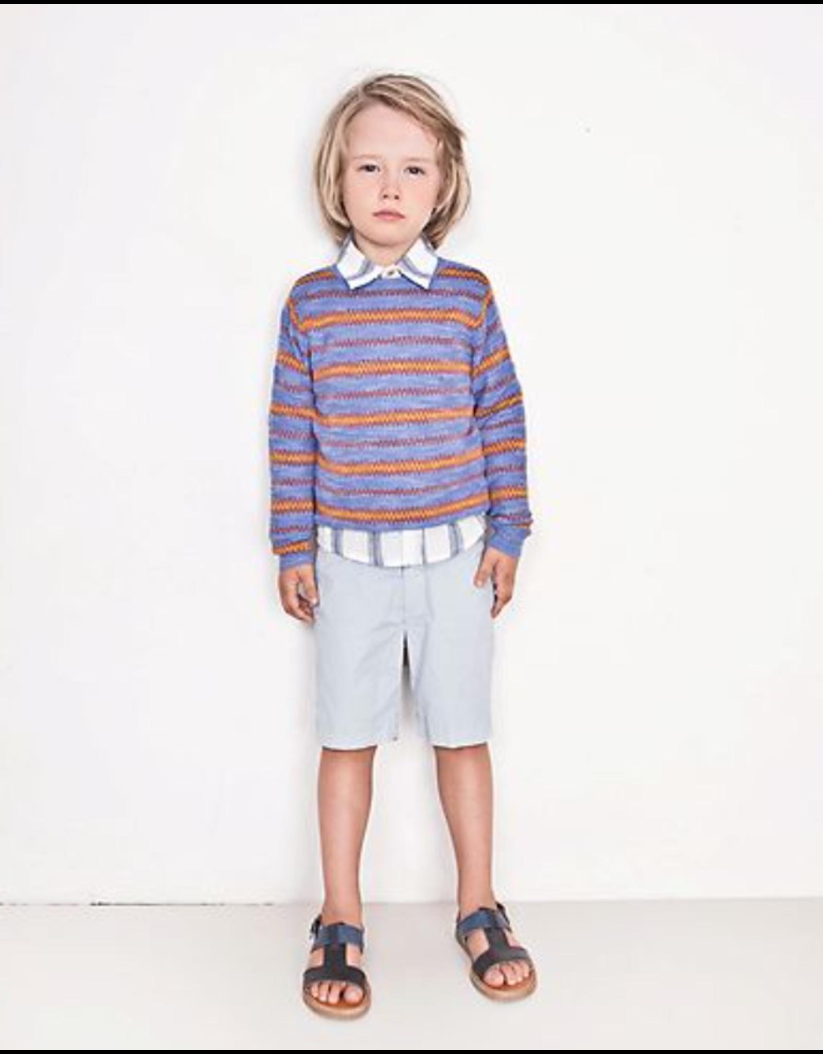 Morley Morley hemd Waldo wit gestreept