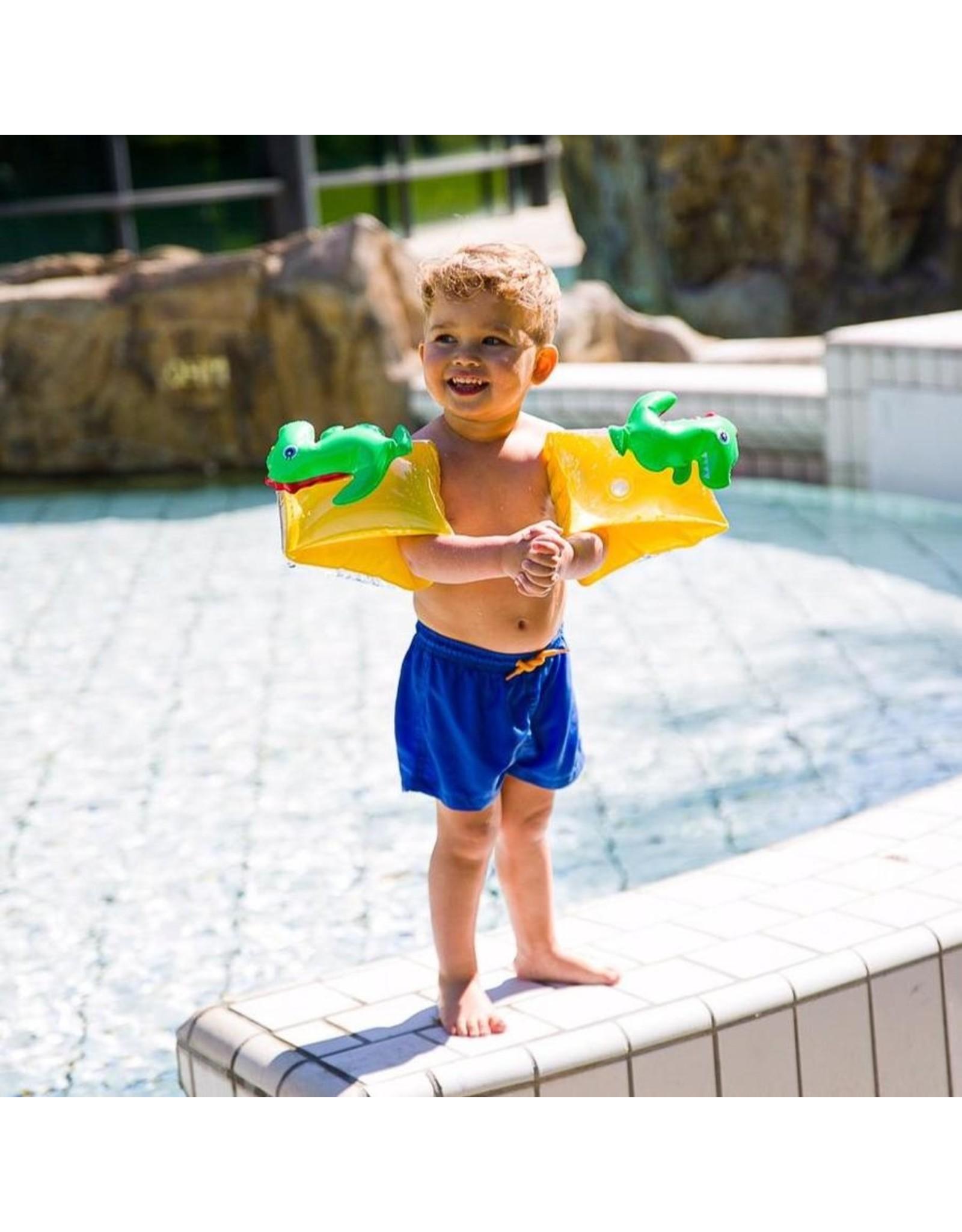 Swim Essentials Swim Essentials zwembandjes 3D dinosaurus 2-6jr