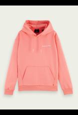 Scotch & Soda oversized hoodie peach