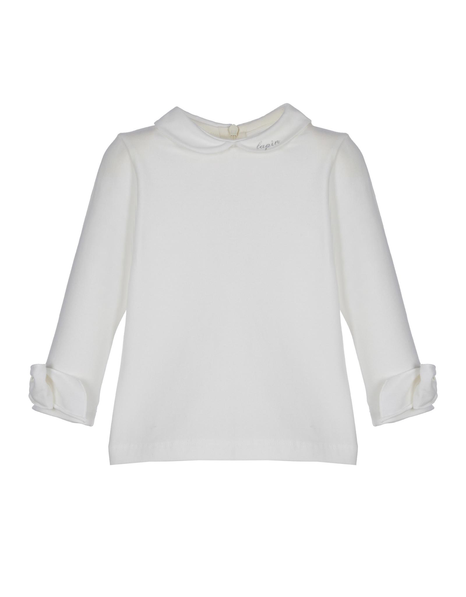 Lapin House Lapin House T-shirt  kraagje ecru lange mouw