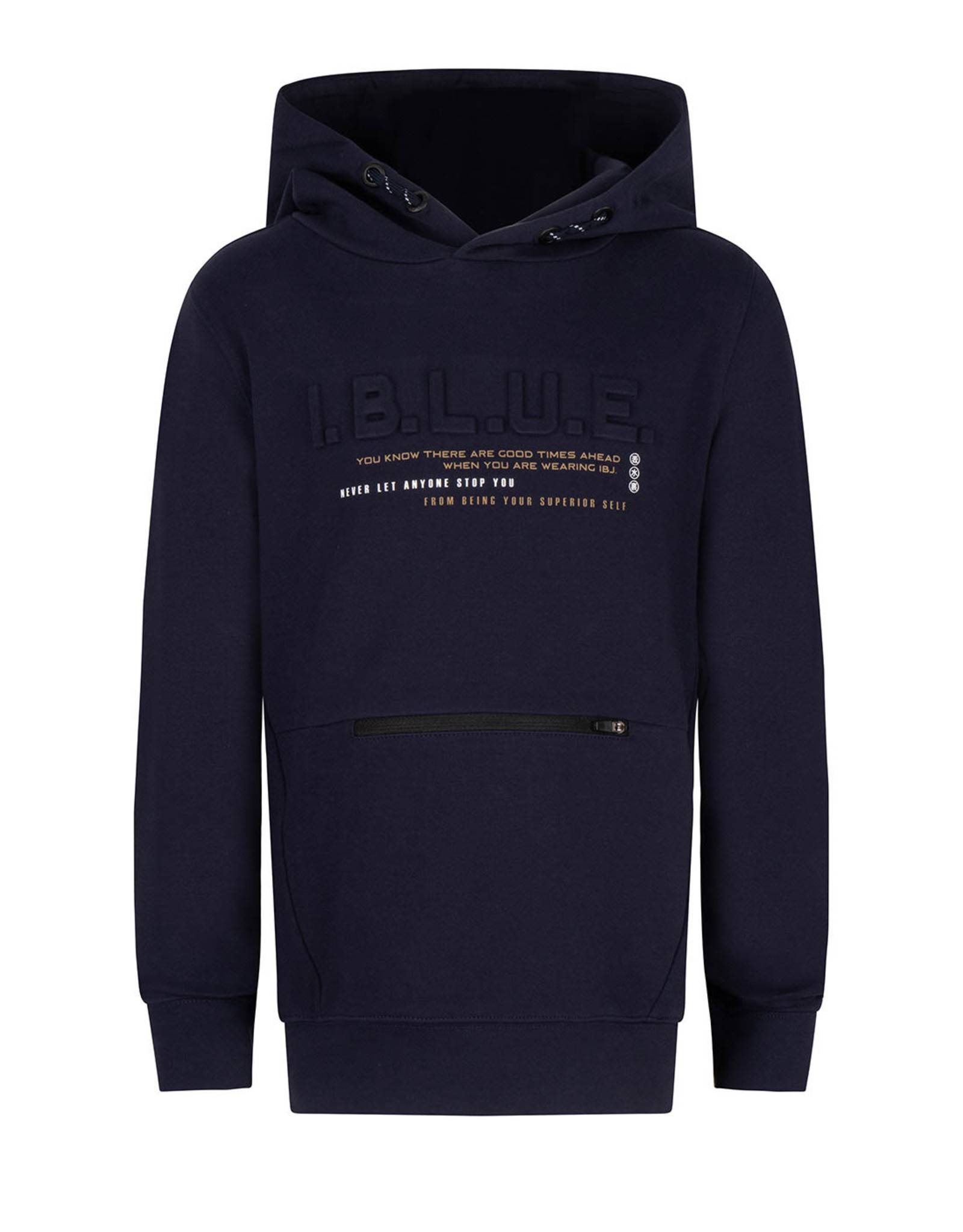 Indian Blue Jeans hoodie navy ritsje