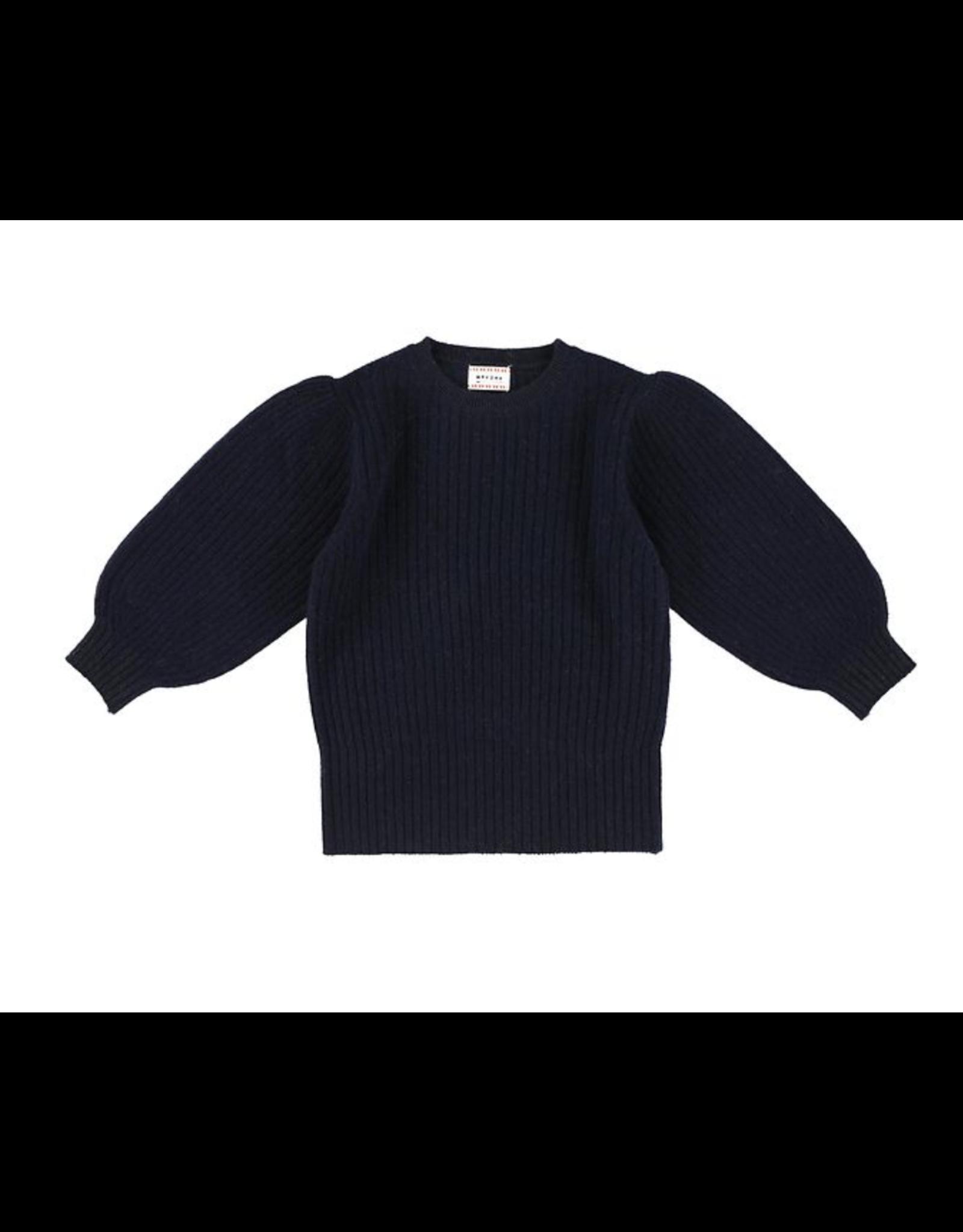 Morley Oriana wool navy pull