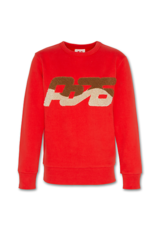 A076 sweater rood wave
