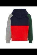 A076 AO76 sweater colour block