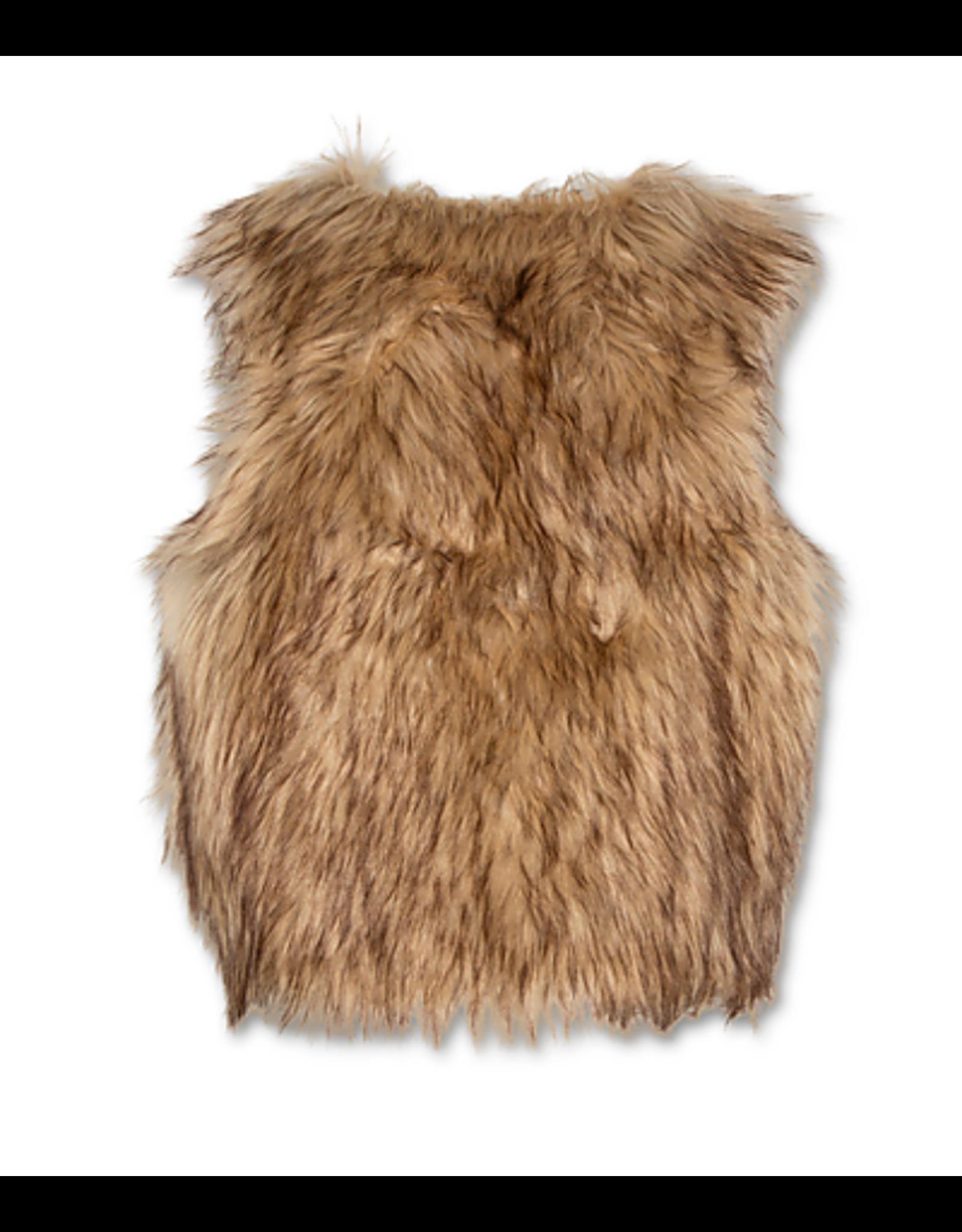 A076 bodywarmer inuit fluffy
