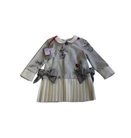 Lapin House wit grijze jurk pied de poule