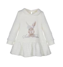 Lapin House witte jurk konijn