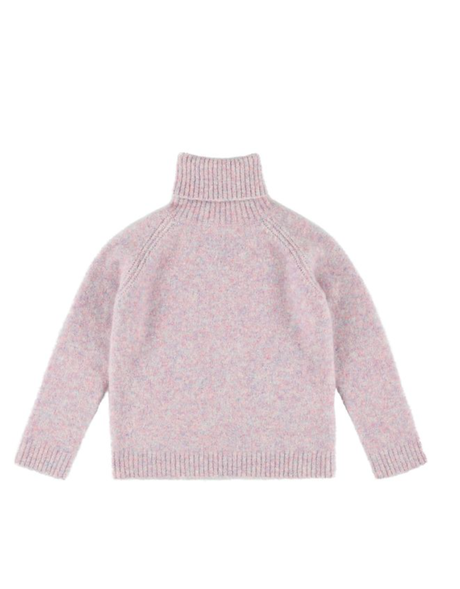 Morley Mason lama pink turtleneck