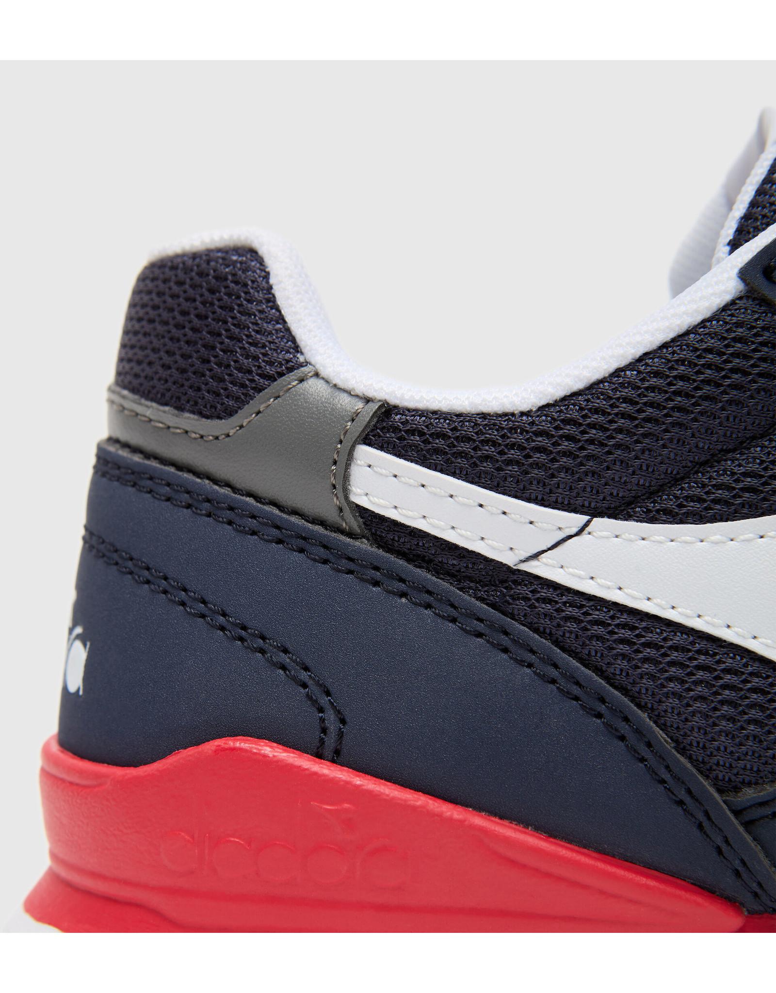 Diadora sneaker blauw rood