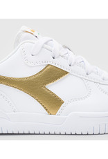 Diadora sneaker wit goud
