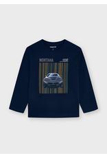Mayoral T-shirt car navy montana