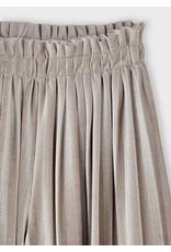 Mayoral plissé broek culotte taupe