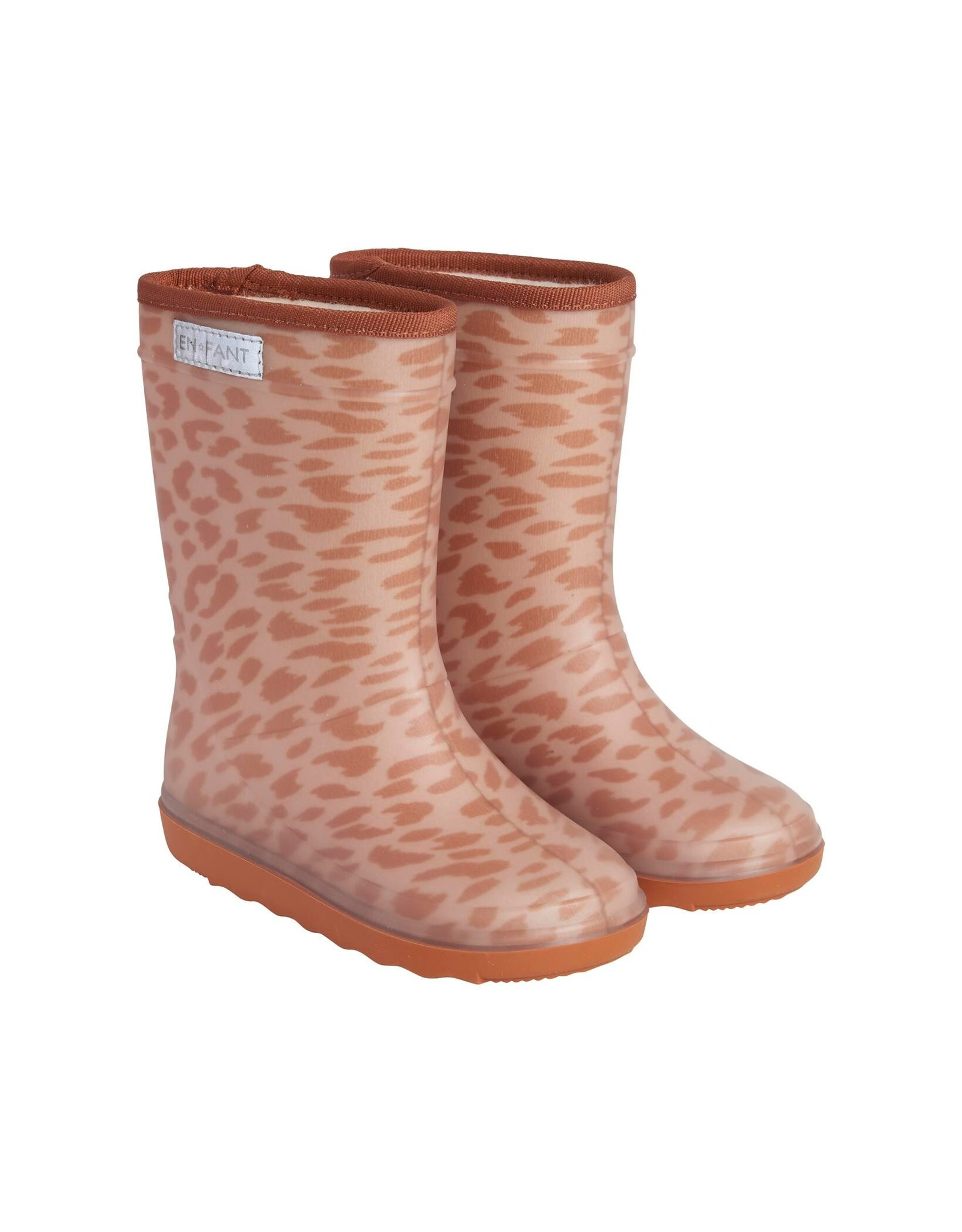 En Fant Thermo boots print leather brown