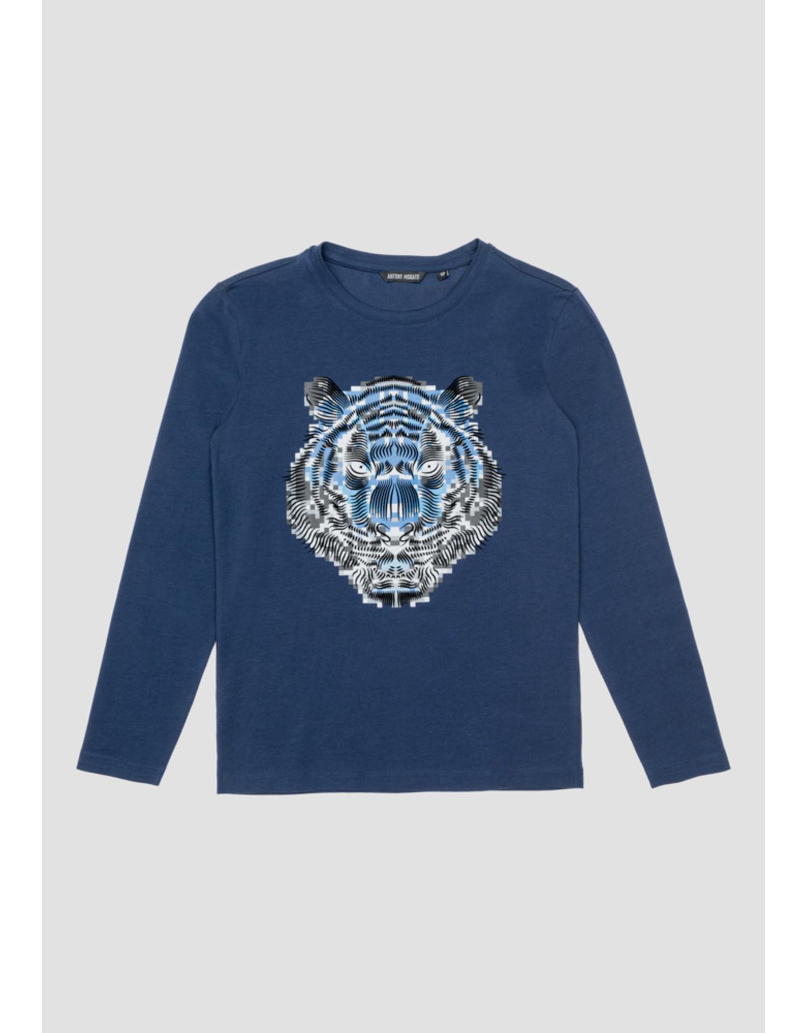 Antony Morato T-shirt marine leeuw