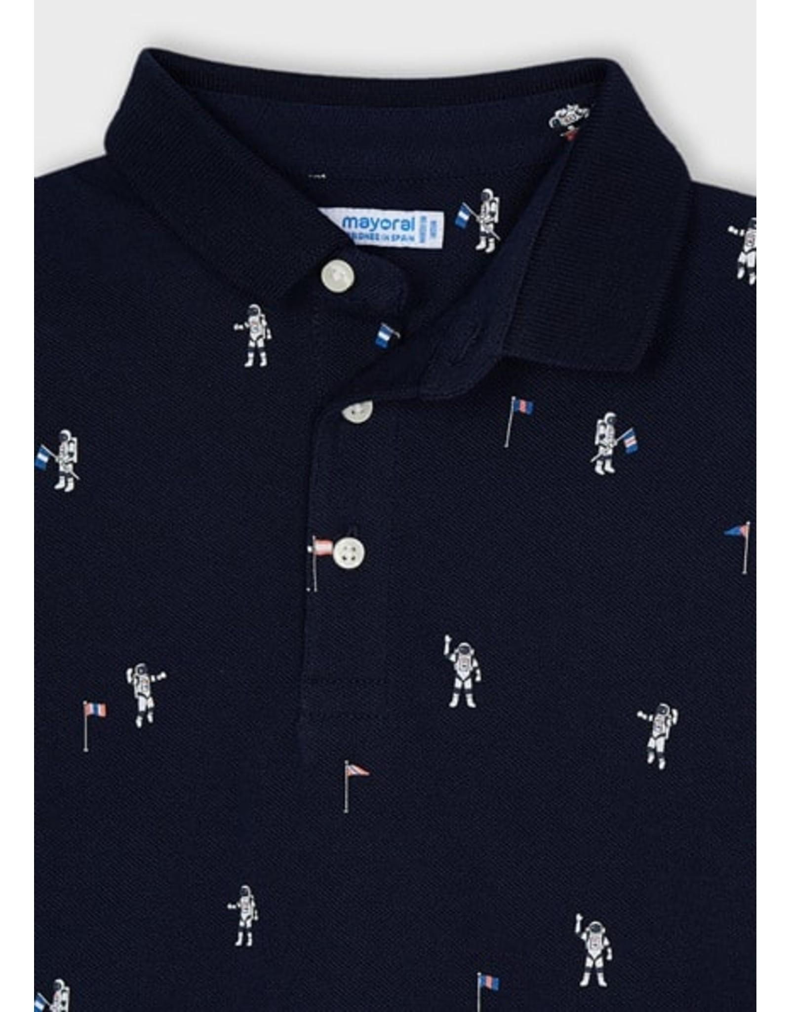 Mayoral Polo astronaut donkerblauw
