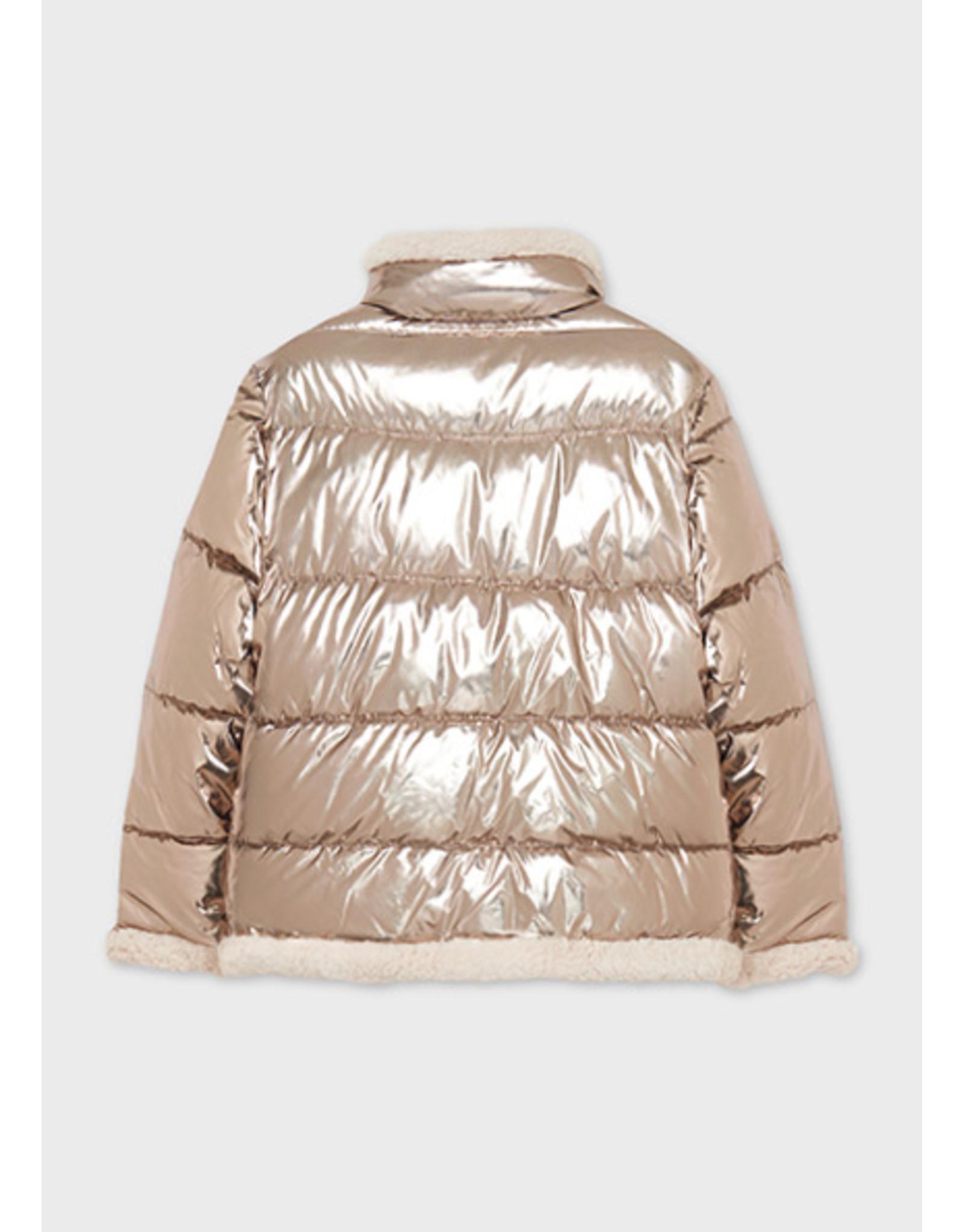 Mayoral omkeerbare jas brons