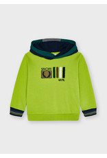 Mayoral Hooded pull lime snow