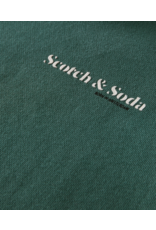 Scotch & Soda Hoodie groen
