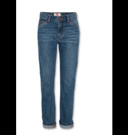 A076 jeansbroek Adam regular medium wash