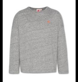 A076 AO76 T-shirt grijs oversized