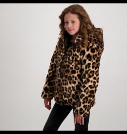 Cars Jas Jixs omkeerbaar khaki-leopard