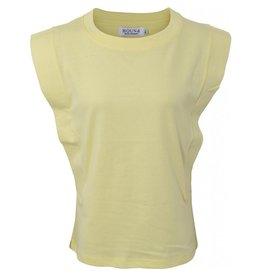 HOUNd T-shirt schouders geel