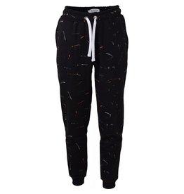 HOUNd Sweat pants paint black