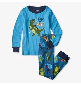 Hatley pyjama dinosaurus glow in the dark