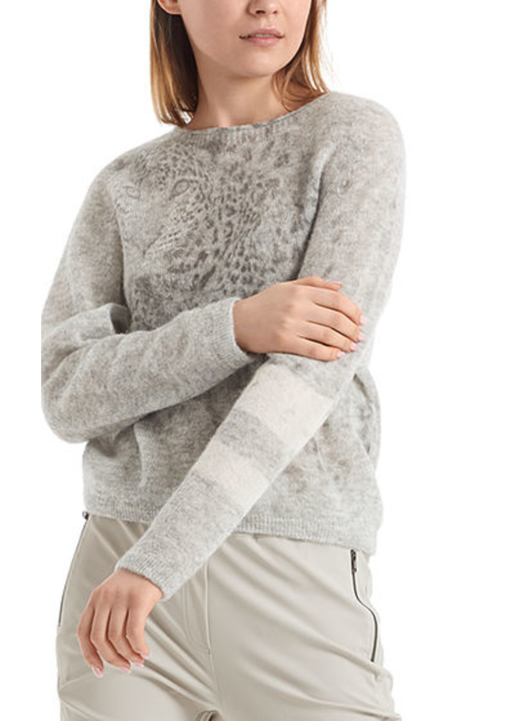 Marccain Sports Sweater RS 41.12 M07 silver grey