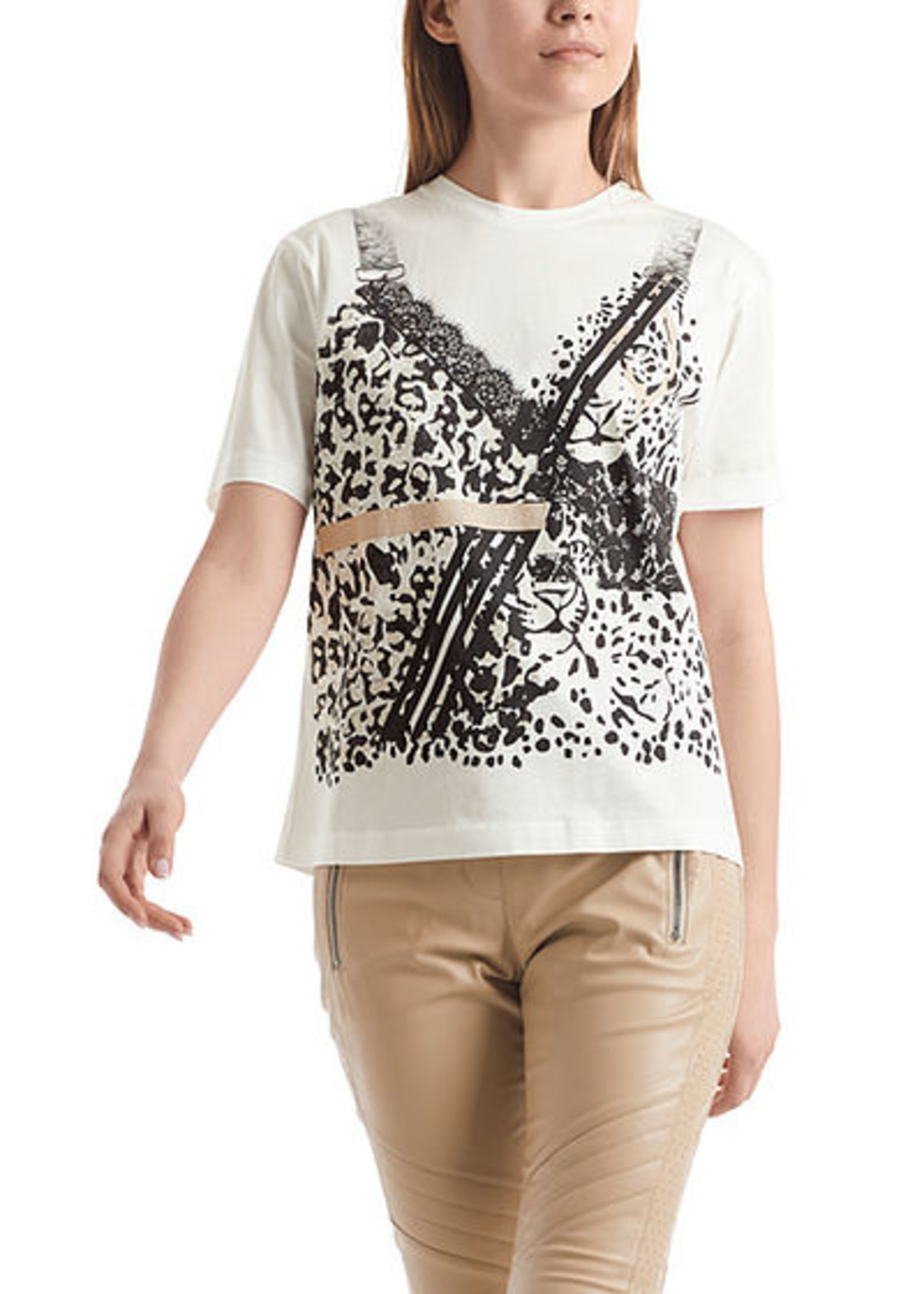 Marccain Sports T-shirt RS 48.21 J79 off-white