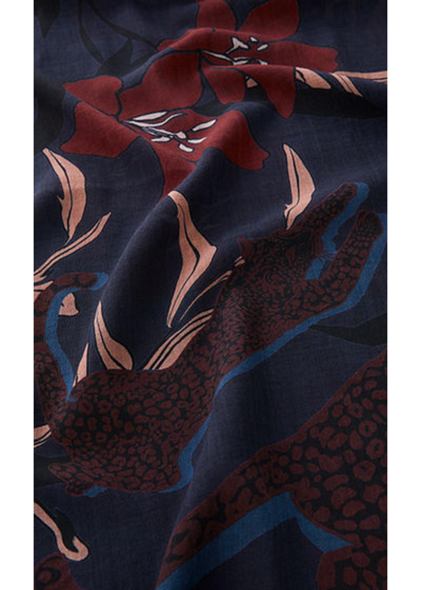 Sjaal RC B4.07 Z08 dark plum