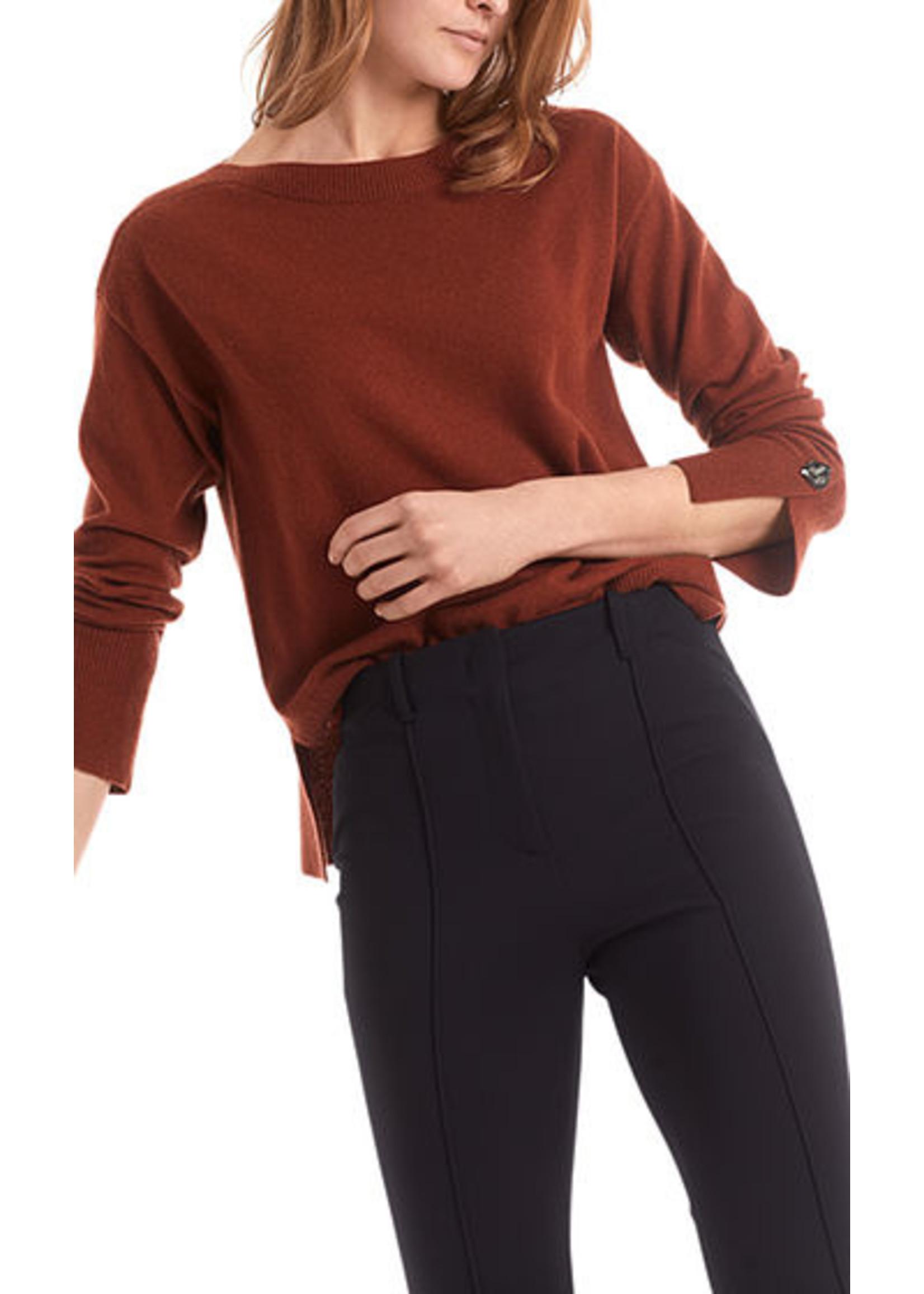 Sweater RC 41.07 M52 mahogany