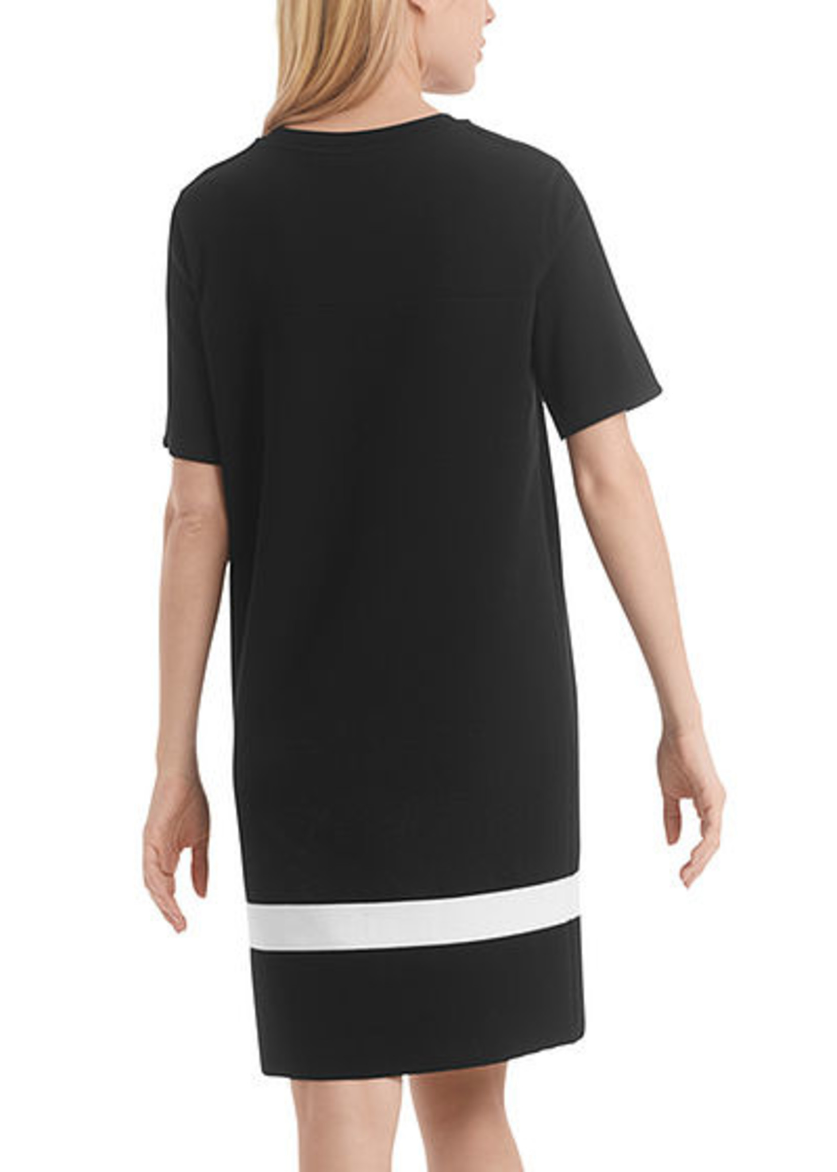 Marccain Sports Jurk RS 21.08 M12 black and white